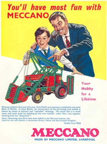The Meccano Man and Dinky Designer
